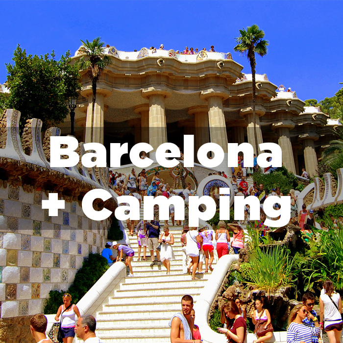 Departure from Barcelona + Camping