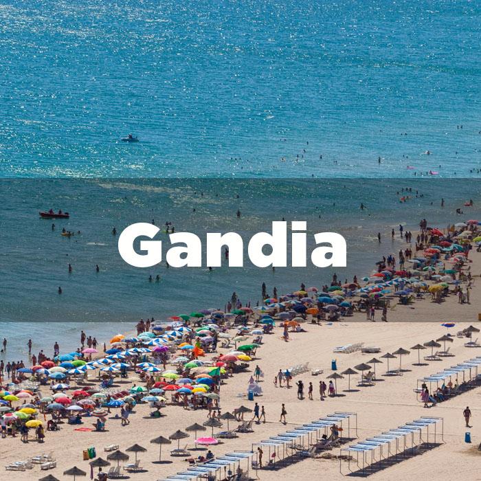Salida desde Gandia