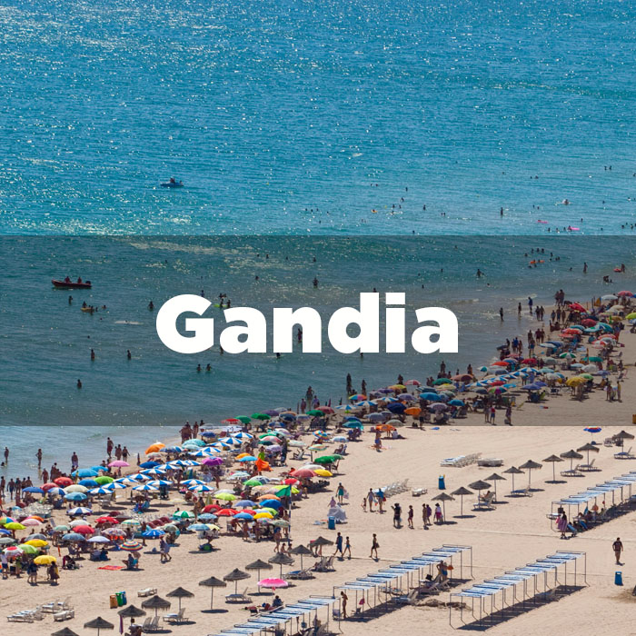 Departure from Gandia