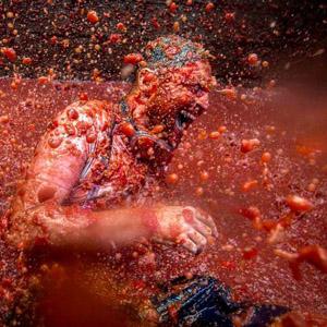 Tomato Fight. La Tomatina